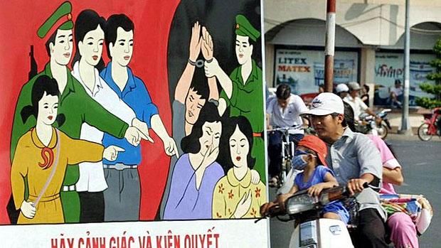 Việt Nam & Cambodia rớt hạng trong báo cáo buôn người của Hoa Kỳ