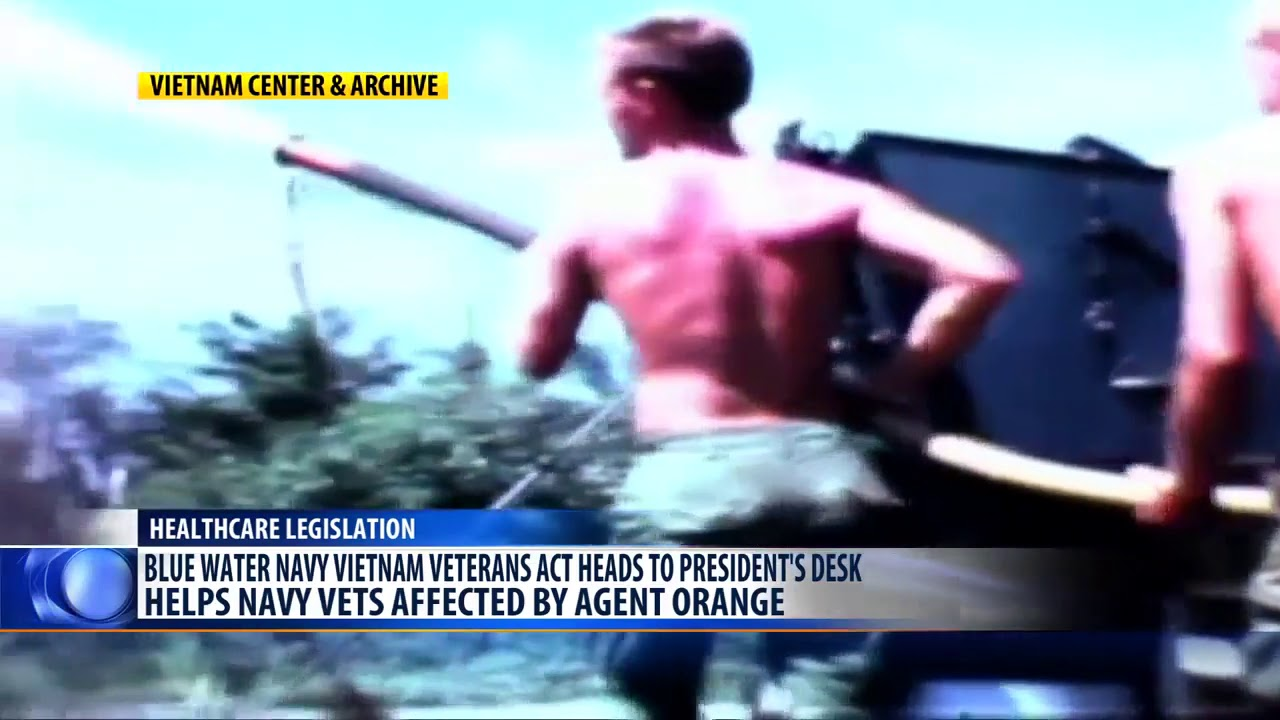 """Dự luật """"Blue Water"""" có thể ngăn chặn quyền lợi của hàng ngàn cựu chiến binh Việt Nam"""