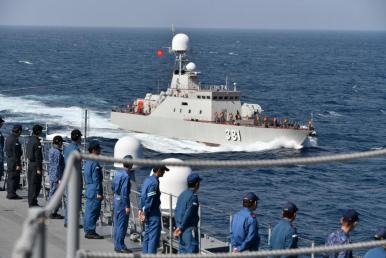 CSVN và Nhật Bản tập trận hải quân