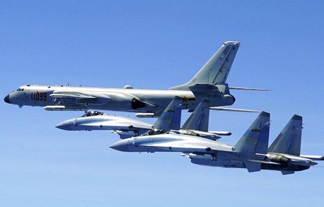 Trung Cộng đưa tiêm kích SU-35s ra Biển Đông tập trận