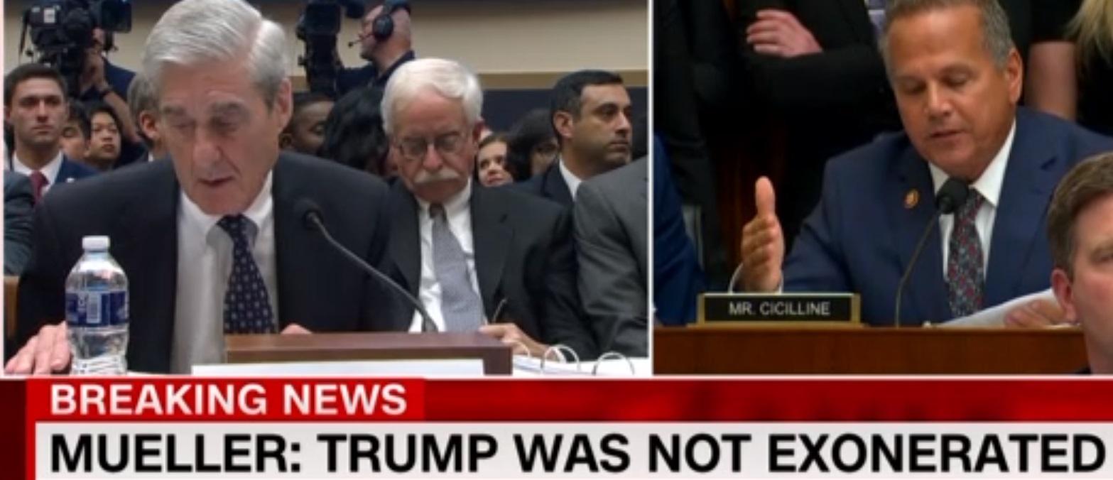 Buổi điều trần của công tố viên đặc biệt Robert Mueller trước Quốc Hội đang tiếp diễn