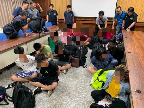 14 người Việt trốn đến Đài Loan bằng thuyền đánh cá bị bắt