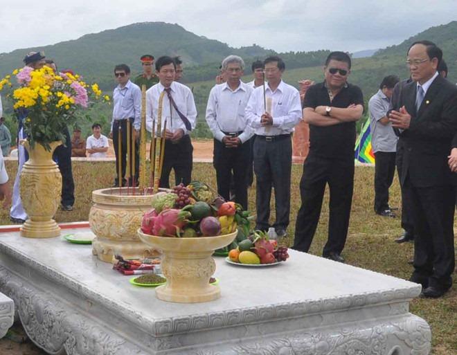 Ông Trần Bắc Hà không được an táng ở quê Bình Định?