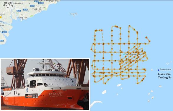 Tàu Hải Dương Trung Cộng rời khỏi lãnh thổ Việt Nam chỉ là để tiếp nhiên liệu?