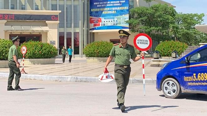 Công an ập vào khu đô thị Triệu Đô chỉ có người Trung cộng ở