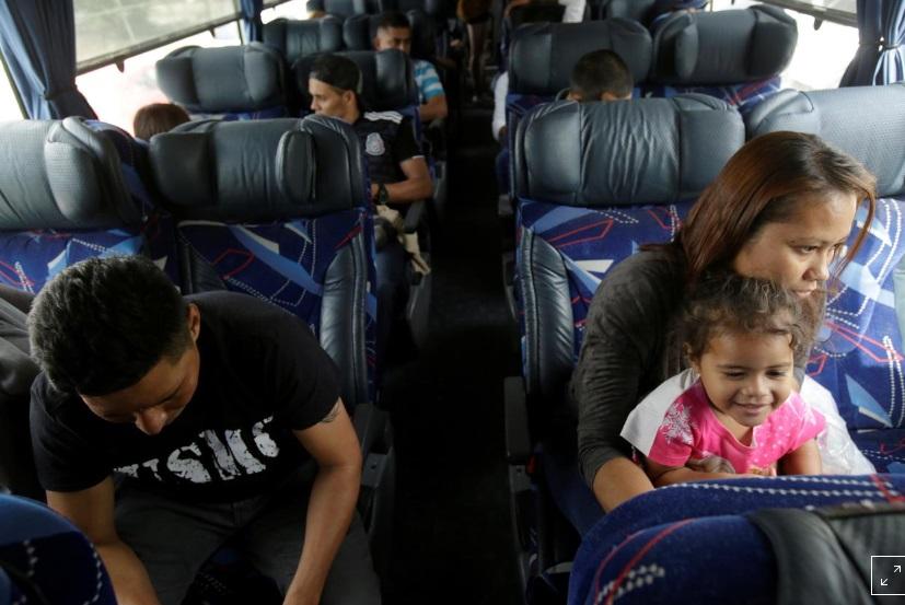 Mexico đưa những di dân đã từ bỏ yêu cầu tầm trú tại Hoa Kỳ về nước
