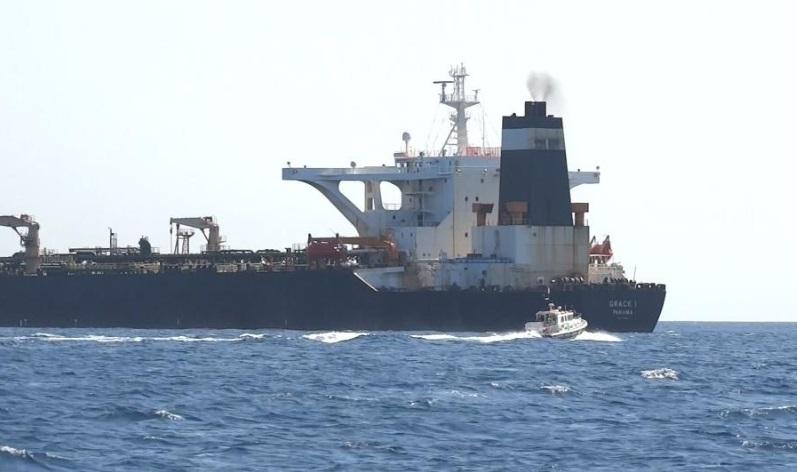 Anh bắt giữ tàu chở dầu Iran vi phạm lệnh trừng phạt Syria