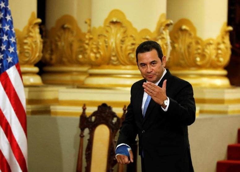 Tổng thống Guatemala hoãn cuộc gặp tổng thống Trump