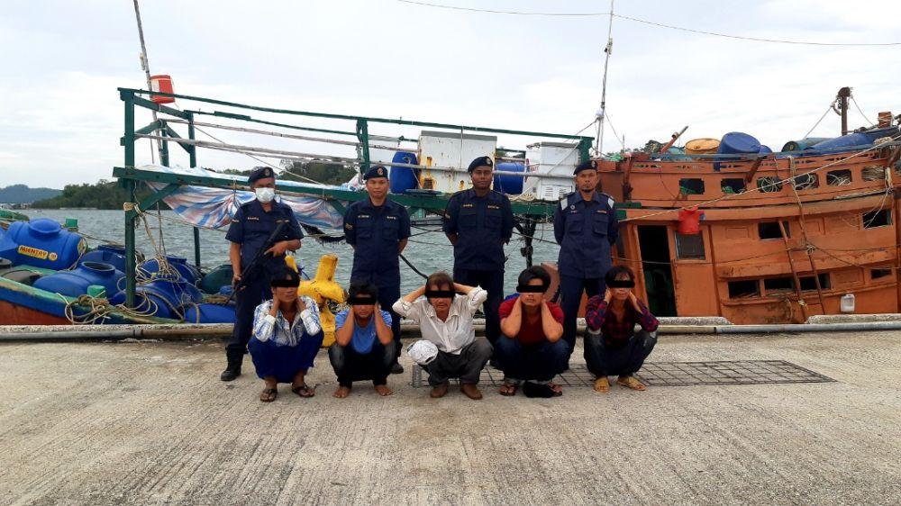 Tàu Việt Nam chiếm số lượng nhiều nhất trong số những tàu đánh cá bất hợp pháp ở Malaysia