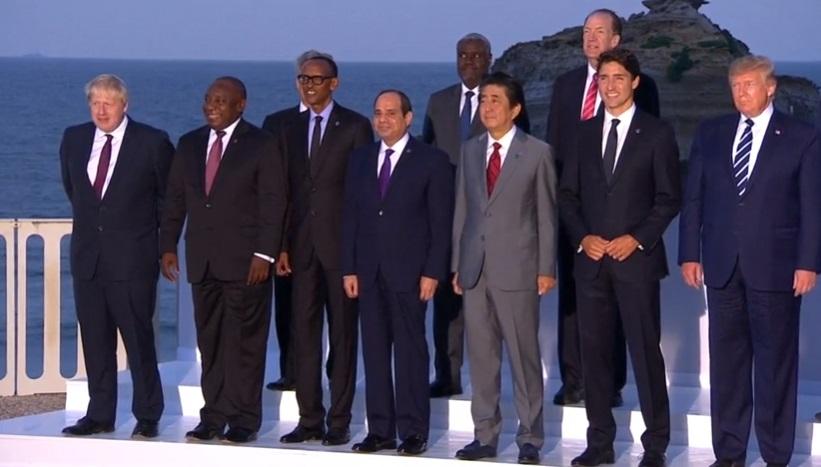 Tổng thống Trump bất ngờ khi ngoại trưởng Iran đến thăm hội nghị thượng đỉnh G7