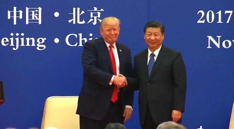 Tổng thống Trump gắn thỏa thuận thương mại Trung Cộng với giải pháp nhân đạo Hồng Kông
