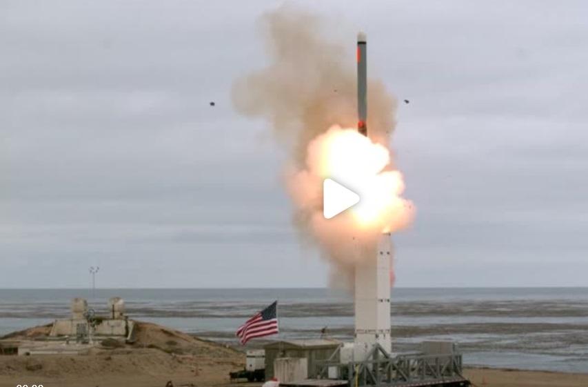Hoa Kỳ lần đầu thử nghiệm hỏa tiễn sau khi rút khỏi thỏa thuận INF