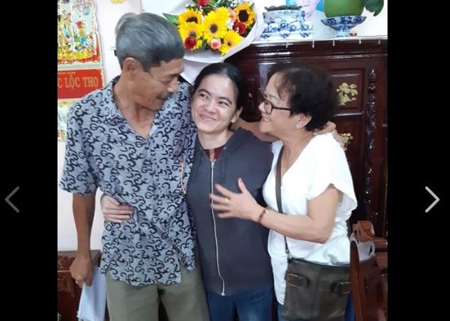 TNLT Nguyễn Đặng Minh Mẫn trở về với gia đình sau 8 năm tù đầy