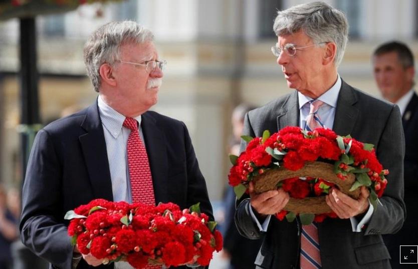 Cố vấn John Bolton  thăm Ukraine, thúc đẩy cuộc gặp giữa hai tổng thống