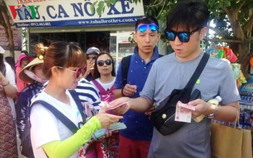 Tiền Trung Cộng đang được giao dịch phổ biến ở Đà Nẵng