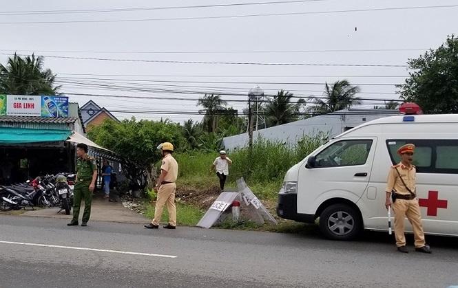 10 nhân viên công lực bị bỏng xăng khi tham gia cưỡng chế đất ở Cà Mau