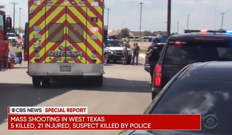 Nổ súng hàng loạt ở Texas- 7 người chết, 21 bị thương, hung thủ bị bắn chết