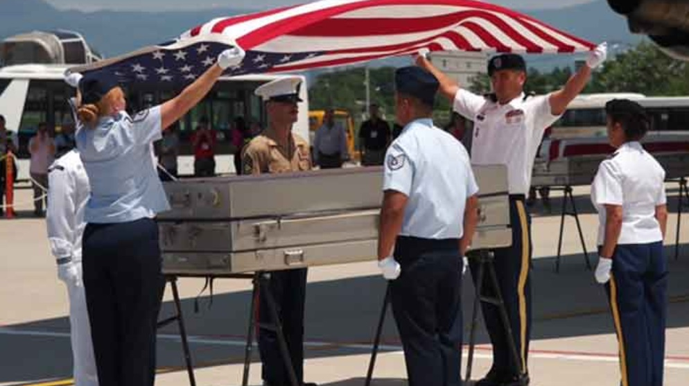 Hồi hương hài cốt hai binh sĩ Hoa Kỳ thiệt mạng trong chiến tranh Việt Nam