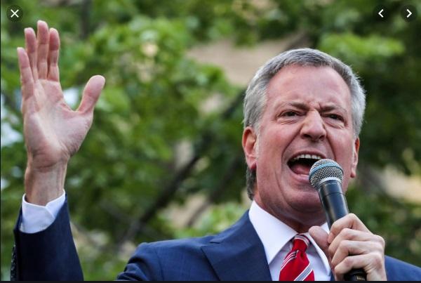 Thị trưởng New York Bill de Blasio rút khỏi cuộc tranh cử tổng thống 2020
