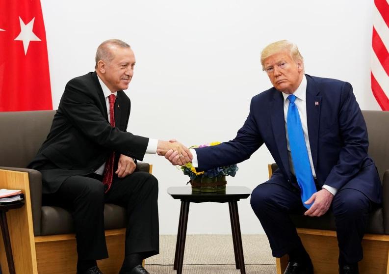 Tổng thống Thổ Nhĩ Kỳ muốn gặp tổng thống Trump để bàn về Syria
