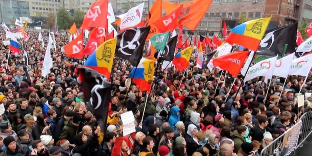 Hàng ngàn người biểu tình ở Moscow yêu cầu thả tù nhân chính trị