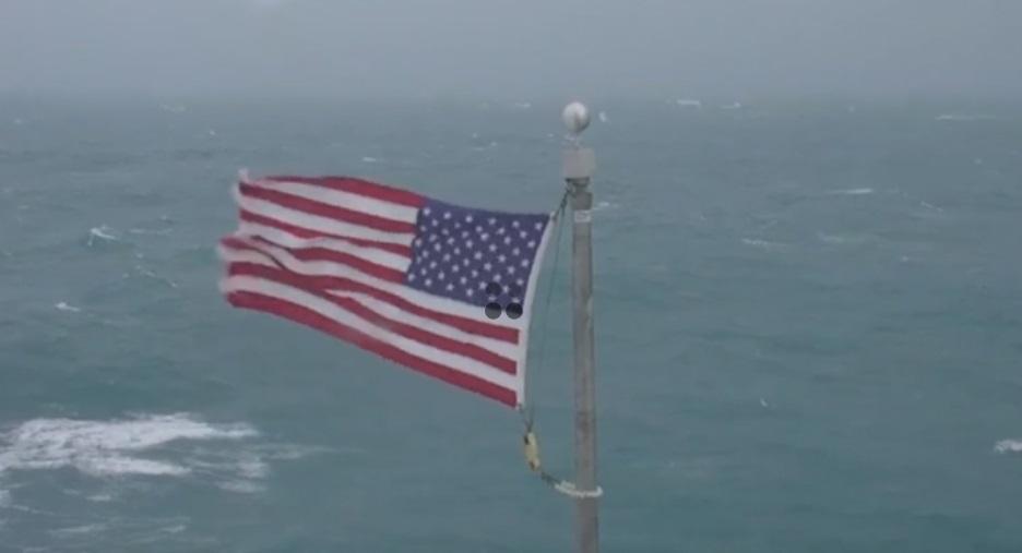 Bão Dorian mạnh lên thành bão cấp 3; đe dọa South và North Carolina