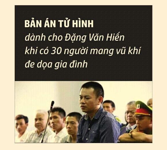 """Luật sư bảo vệ cho tử tù Đặng Văn Hiến tố cáo sự """"vô lối"""" của luật pháp CSVN"""