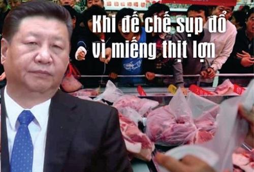 Khi để chế sụp đổ vì miếng thịt l…ợn (Tân Phong)