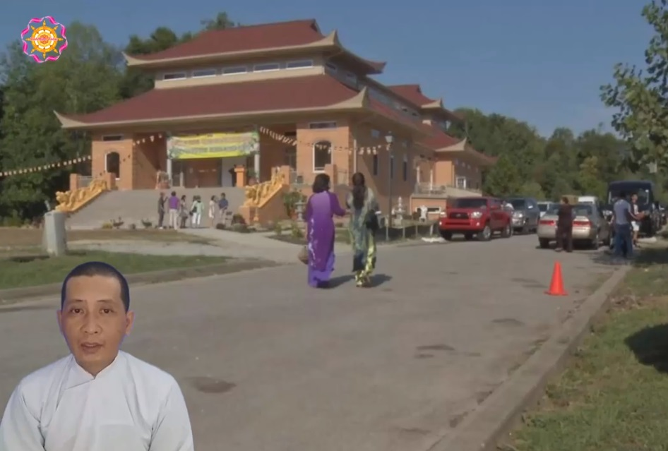 Khánh thành chùa Phật Thiên lớn nhất thành phố Louisville, Kentucky