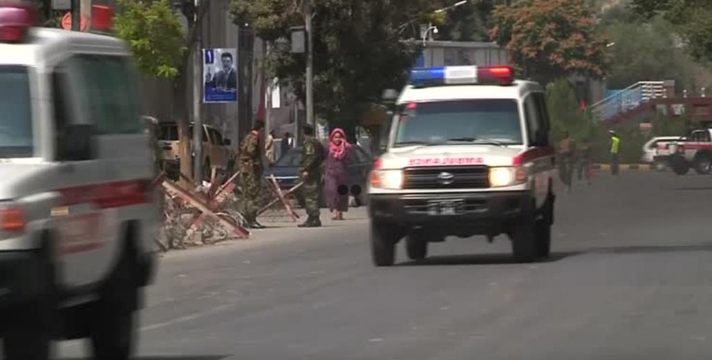 Tòa Đại Sứ Hoa Kỳ ở thủ đô Afghanistan bị bắn đạn pháo đúng ngày 9/11