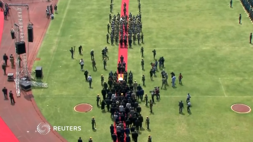 Lễ tang cựu tổng thống Zimbabwe Mugabe