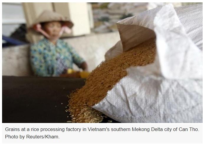 Hàng xuất cảng Việt Nam bị Trung Cộng làm khó