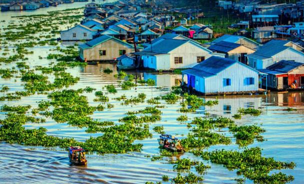Đồng bằng sông Cửu Long đang chìm với tốc độ nhanh nhất thế giới