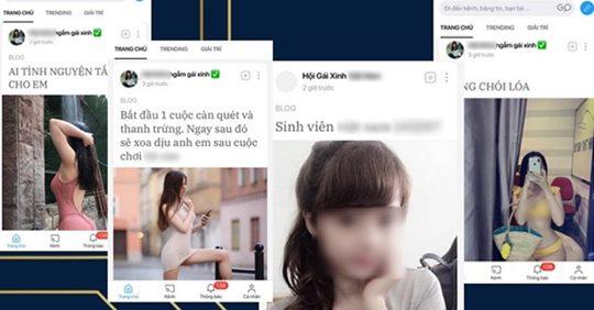 Mạng xã hội Lotus 1,200 tỷ của CSVN chỉ toàn là hình ảnh gái hở hang