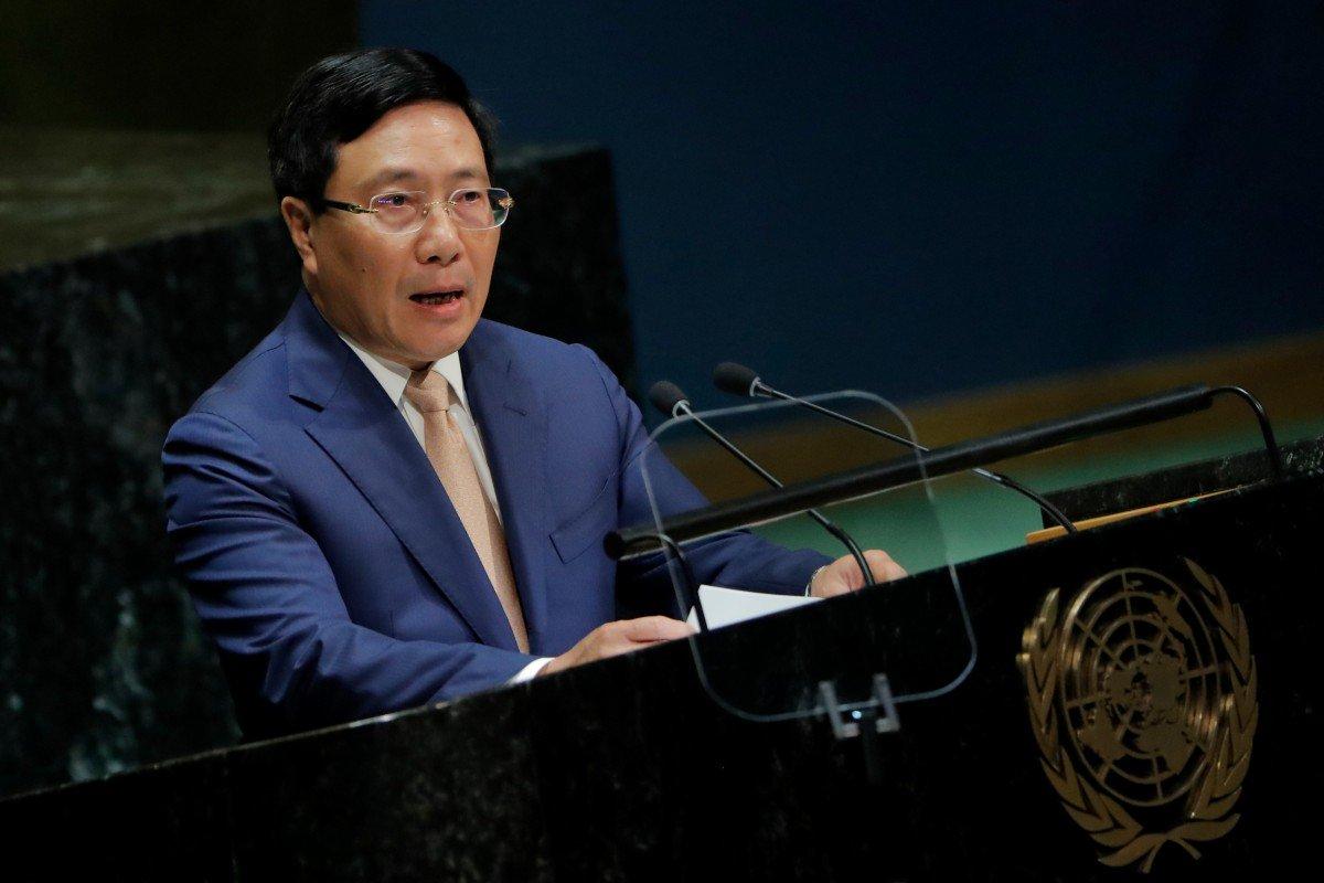 Ngoại trưởng CSVN không dám nêu đích danh Trung Cộng tại LHQ