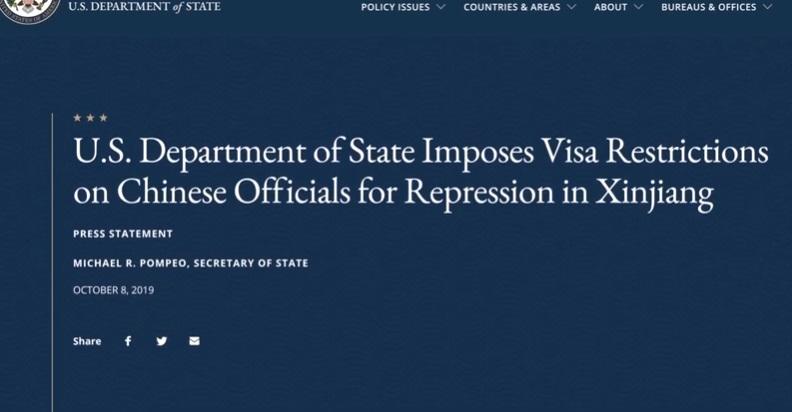 Hoa Kỳ thắt chặt visa Trung Cộng tạo không khí ảm đạm trước đàm phán thương mại