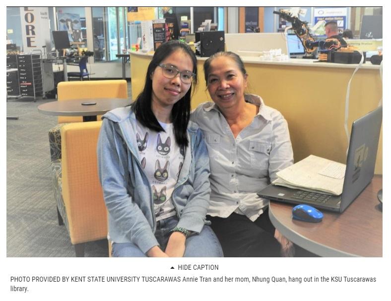 Sinh viên Việt Nam tìm được giấc mơ Mỹ tại đại học Kent Tuscarawas