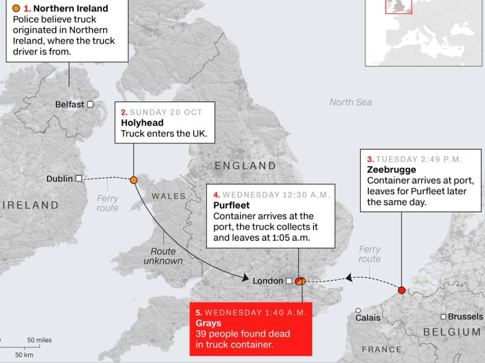 Những người Việt Nam liều mạng để vào Anh Quốc