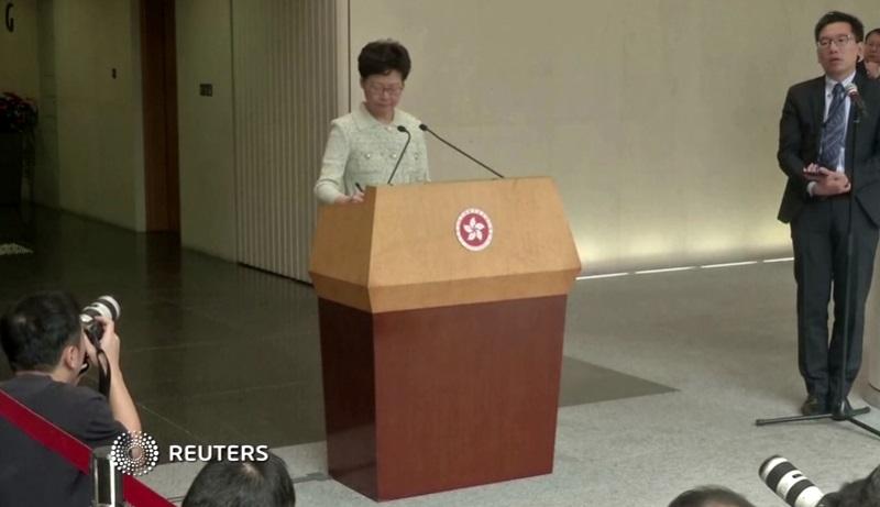 """Trung Cộng lên kế hoạch thay thế đặc khu trưởng Carrie Lam bằng lãnh đạo """"tạm thời"""""""