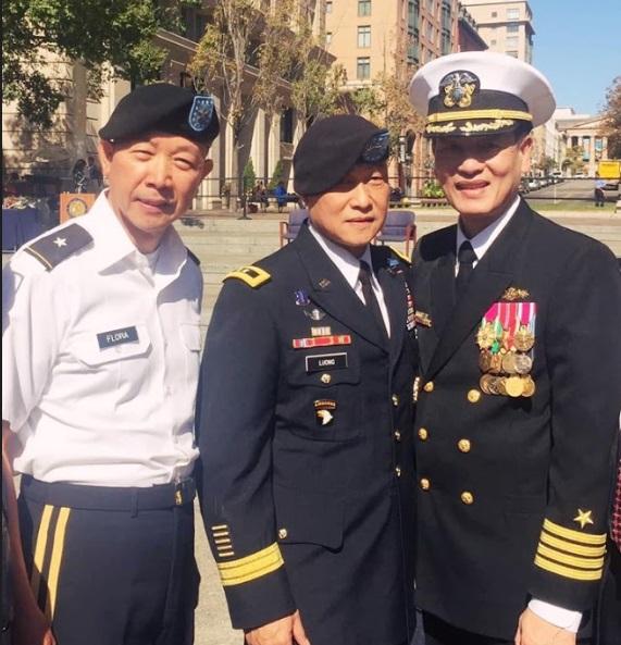 Lễ gắn cấp bậc Phó Đề Đốc Nguyễn Từ Huấn tại Washington DC
