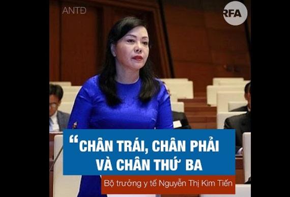 Bộ trưởng y tế Kim Tiến sẽ mất chức trong kỳ họp quốc hội tới