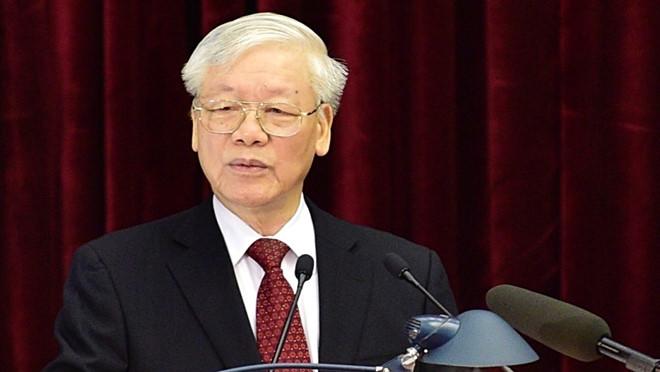 Lần đầu tiên Nguyễn Phú Trọng dám nhắc tới Biển Đông