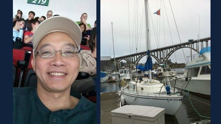 Tìm ra thi thể của ông Hoàng Trần mất tích ở biển Oregon