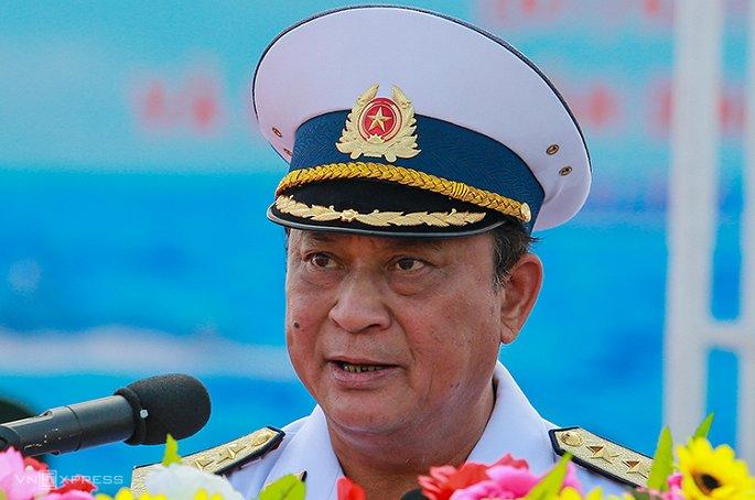 Cựu tư lệnh hải quân, thứ trưởng quốc phòng Nguyễn Văn Hiến bị khởi tố vì tham nhũng