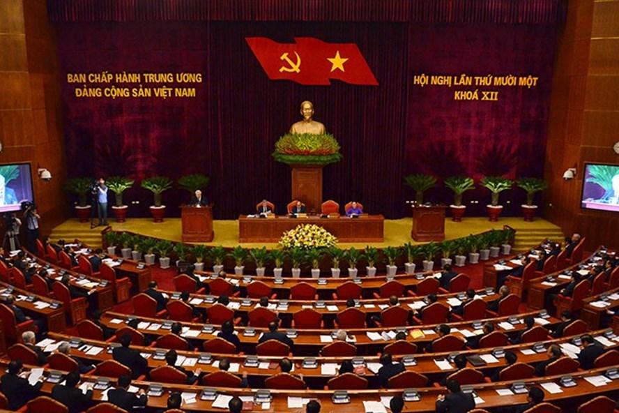 Đảng cộng sản kết thúc hội nghị trung ương, không nhắc đến sự xâm lấn của Trung Cộng