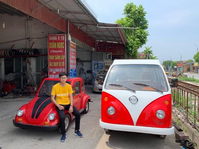 Học sinh lớp 12 lắp ráp xe hơi chạy năng lượng mặt trời