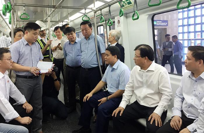 Bộ Giao Thông Vận Tải không đồng ý bắt đầu vận hành tuyến đường sắt Cát Linh-Hà Đông