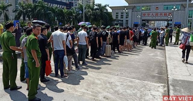Đà Nẵng trục xuất 350 tội phạm Trung Cộng không qua xét xử