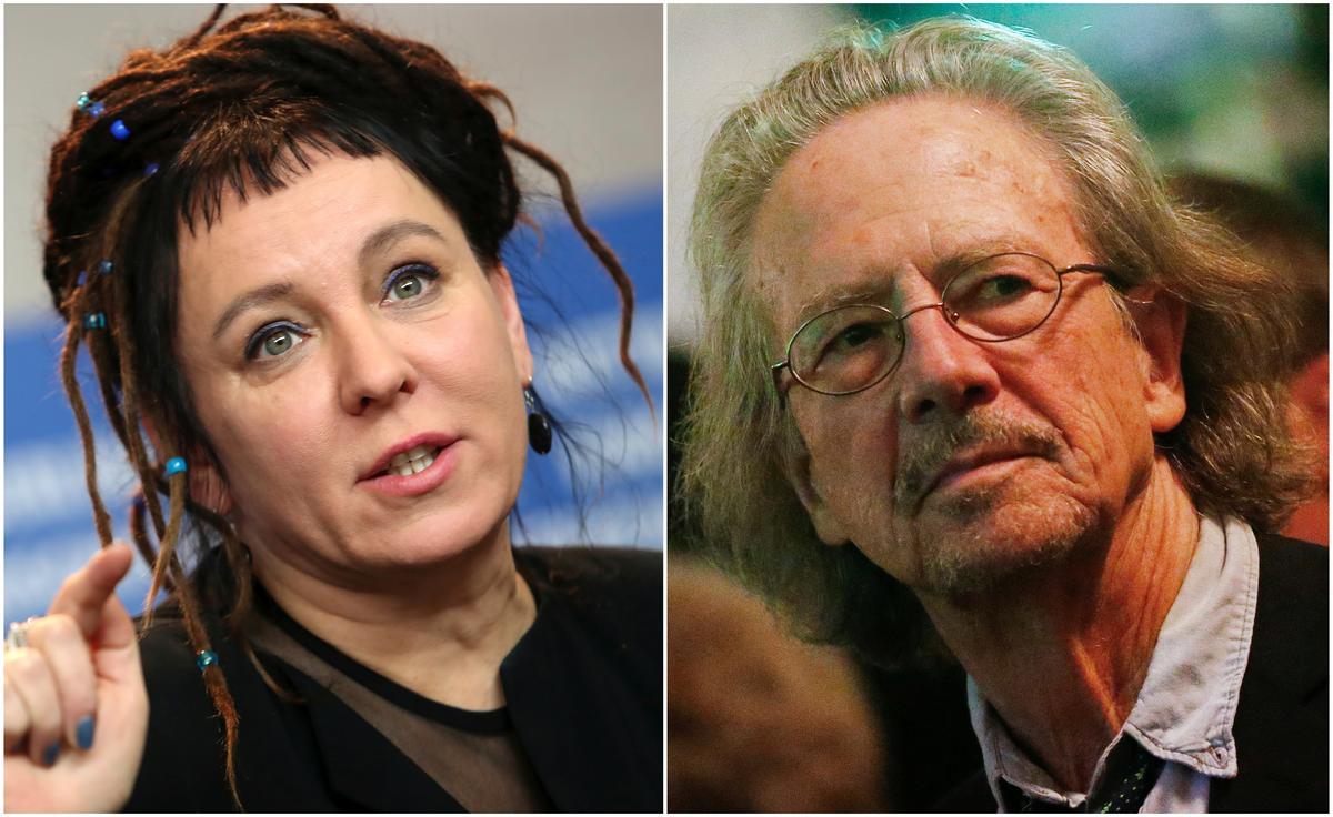 Hai tác giả Peter Handke và Olga Tokarczuk đạt được giải thưởng Nobel Văn Học