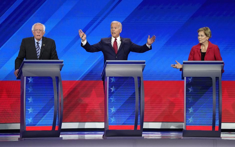 Các ứng cử viên tổng thống của đảng Dân Chủ chuẩn bị tranh luận tại Ohio